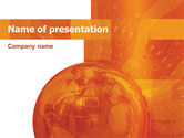 Wide World Business PowerPoint Template#1