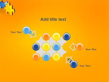 Jigsaw Chain PowerPoint Template Slide 10