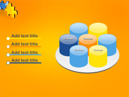 Jigsaw Chain PowerPoint Template Slide 12