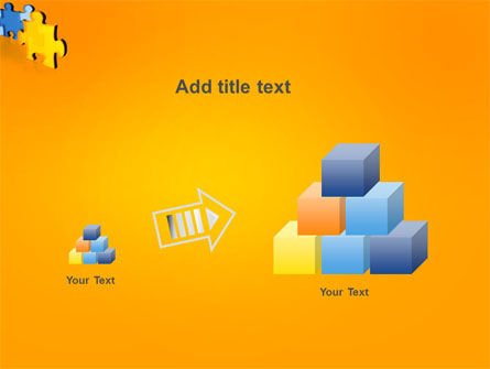 Jigsaw Chain PowerPoint Template Slide 13
