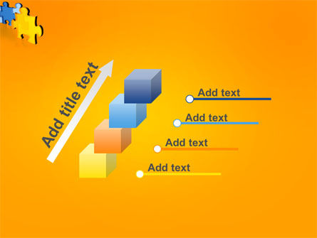 Jigsaw Chain PowerPoint Template Slide 14