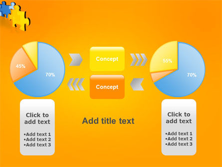 Jigsaw Chain PowerPoint Template Slide 16