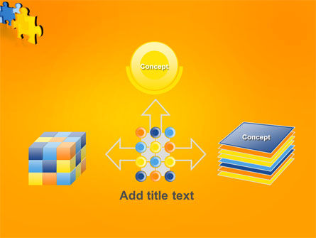 Jigsaw Chain PowerPoint Template Slide 19