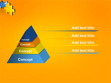 Jigsaw Chain PowerPoint Template Slide 4