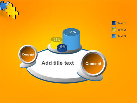 Jigsaw Chain PowerPoint Template Slide 6