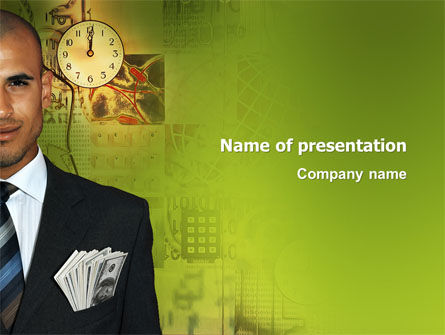 Business: Richness PowerPoint Template #03171