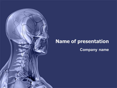 Medical: Shoulder Girdle PowerPoint Template #03172