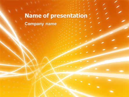 Abstract/Textures: Lights PowerPoint Template #03173