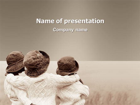 Kids Friendship PowerPoint Template