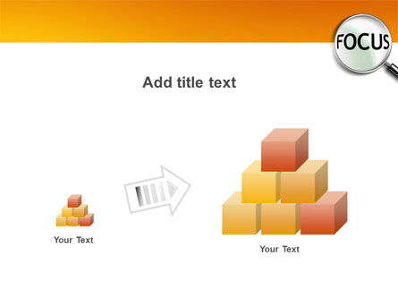 Focus PowerPoint Template Slide 13