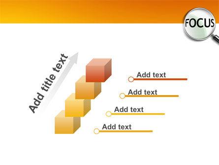Focus PowerPoint Template Slide 14