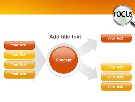 Focus PowerPoint Template Slide 15