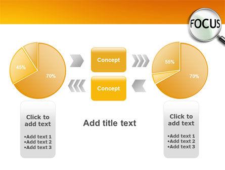 Focus PowerPoint Template Slide 16