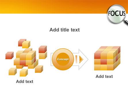 Focus PowerPoint Template Slide 17