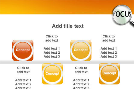Focus PowerPoint Template Slide 18
