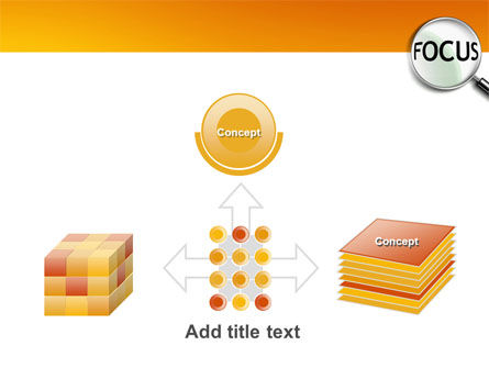 Focus PowerPoint Template Slide 19