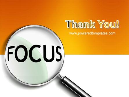 Focus PowerPoint Template Slide 20