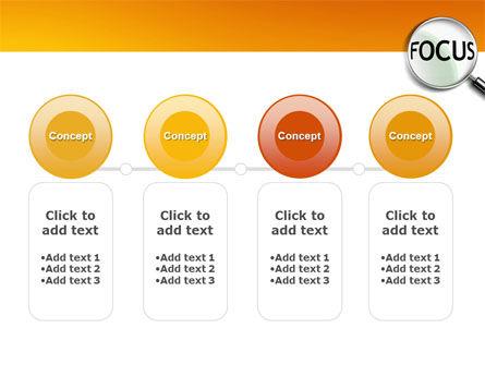Focus PowerPoint Template Slide 5