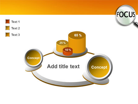 Focus PowerPoint Template Slide 6