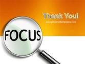 Focus PowerPoint Template#20