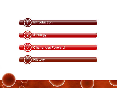 Red Spheres PowerPoint Template, Slide 3, 03177, Medical — PoweredTemplate.com