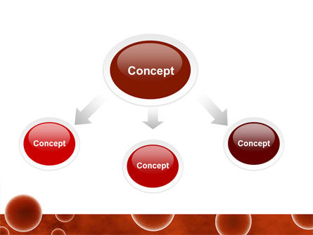 Red Spheres PowerPoint Template, Slide 4, 03177, Medical — PoweredTemplate.com