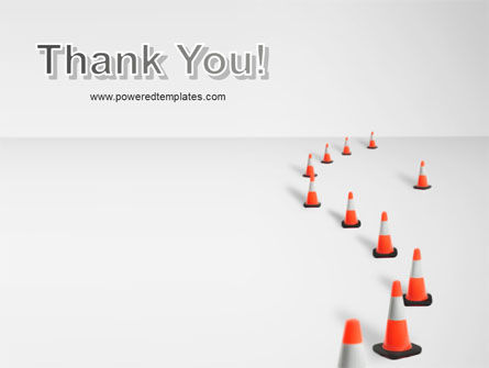 Road Barriers PowerPoint Template Slide 20