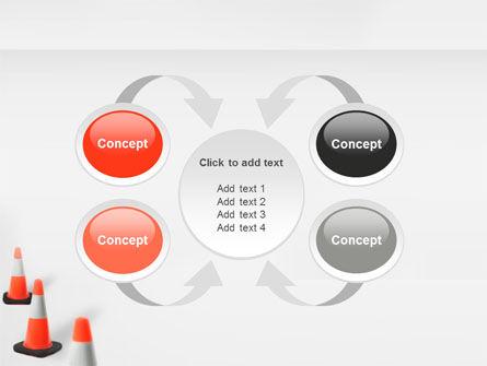 Road Barriers PowerPoint Template Slide 6