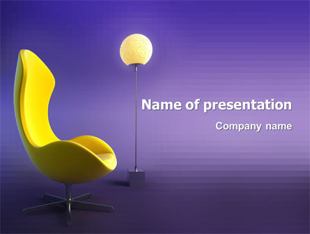Art & Entertainment: Comfort PowerPoint Template #03182
