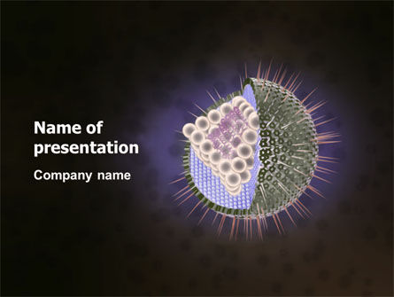 Medical: Human Immunodeficiency Virus PowerPoint Template #03185