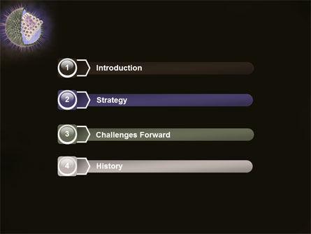 Human Immunodeficiency Virus PowerPoint Template, Slide 3, 03185, Medical — PoweredTemplate.com