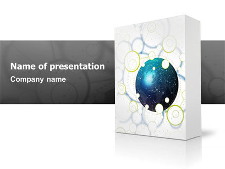 Technology and Science: Software Pakket PowerPoint Template #03190