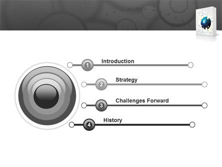 Software Package PowerPoint Template, Slide 3, 03190, Technology and Science — PoweredTemplate.com