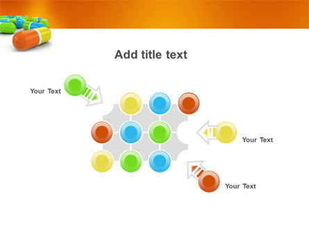 Colored Pills PowerPoint Template Slide 10