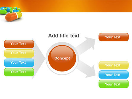 Colored Pills PowerPoint Template Slide 15