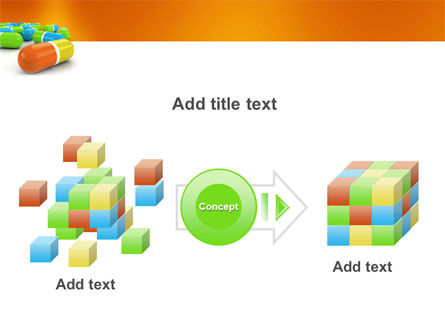 Colored Pills PowerPoint Template Slide 17