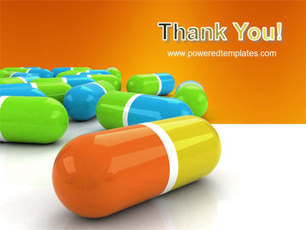 Colored Pills PowerPoint Template Slide 20