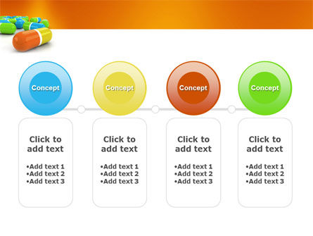 Colored Pills PowerPoint Template Slide 5