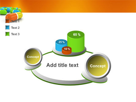 Colored Pills PowerPoint Template Slide 6