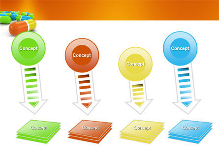 Colored Pills PowerPoint Template Slide 8