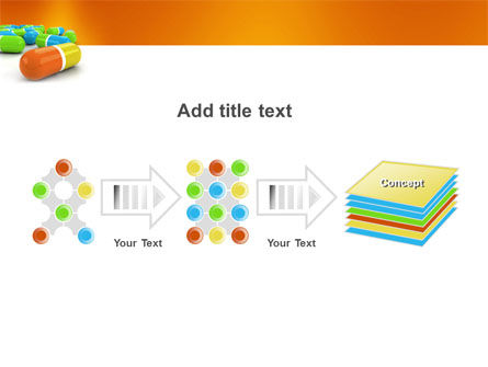 Colored Pills PowerPoint Template Slide 9