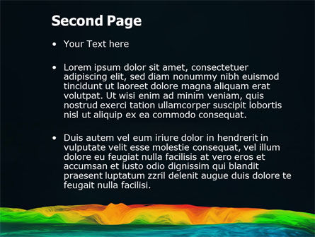Gravity Data PowerPoint Template Slide 2