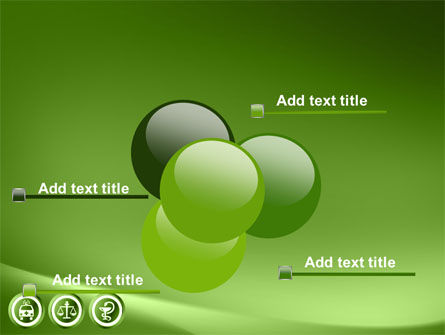 Signs Of Medicine In A Green Colors PowerPoint Template Slide 10