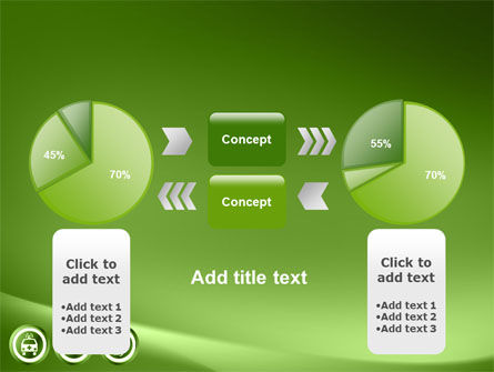 Signs Of Medicine In A Green Colors PowerPoint Template Slide 11