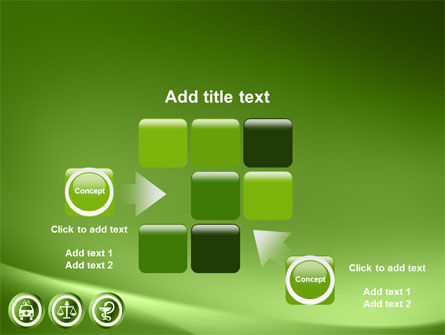 Signs Of Medicine In A Green Colors PowerPoint Template Slide 16