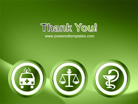 Signs Of Medicine In A Green Colors PowerPoint Template Slide 20