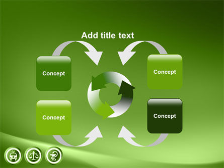 Signs Of Medicine In A Green Colors PowerPoint Template Slide 6