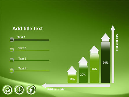 Signs Of Medicine In A Green Colors PowerPoint Template Slide 8
