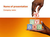 Education & Training: Building Future PowerPoint Template #03202