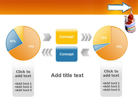 Direction PowerPoint Template Slide 16